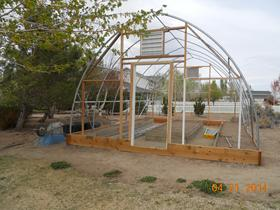 Building A Gothic Greenhouse